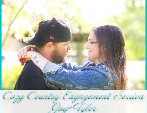 Cozy Country Engagement Session | Joy+Tyler