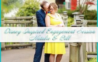 Disney Inspired Engagement Session
