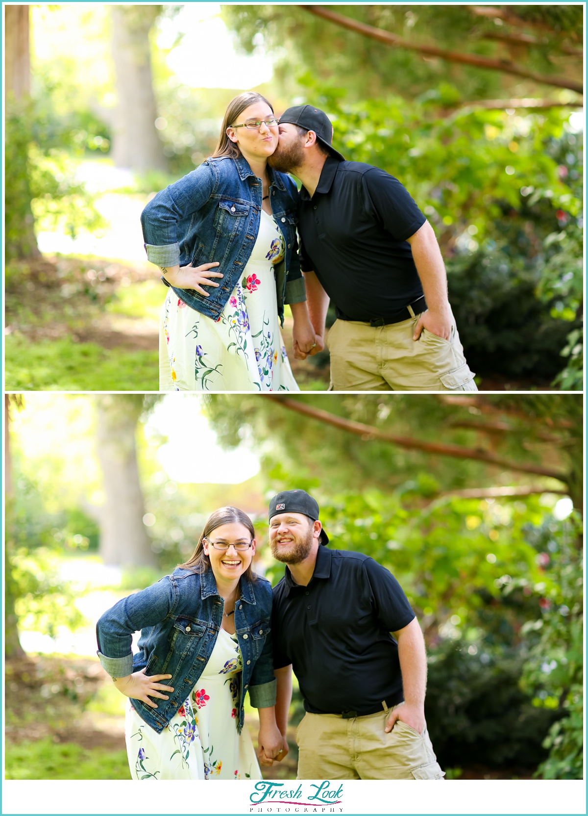 Romantic Chesapeake Engagement Session