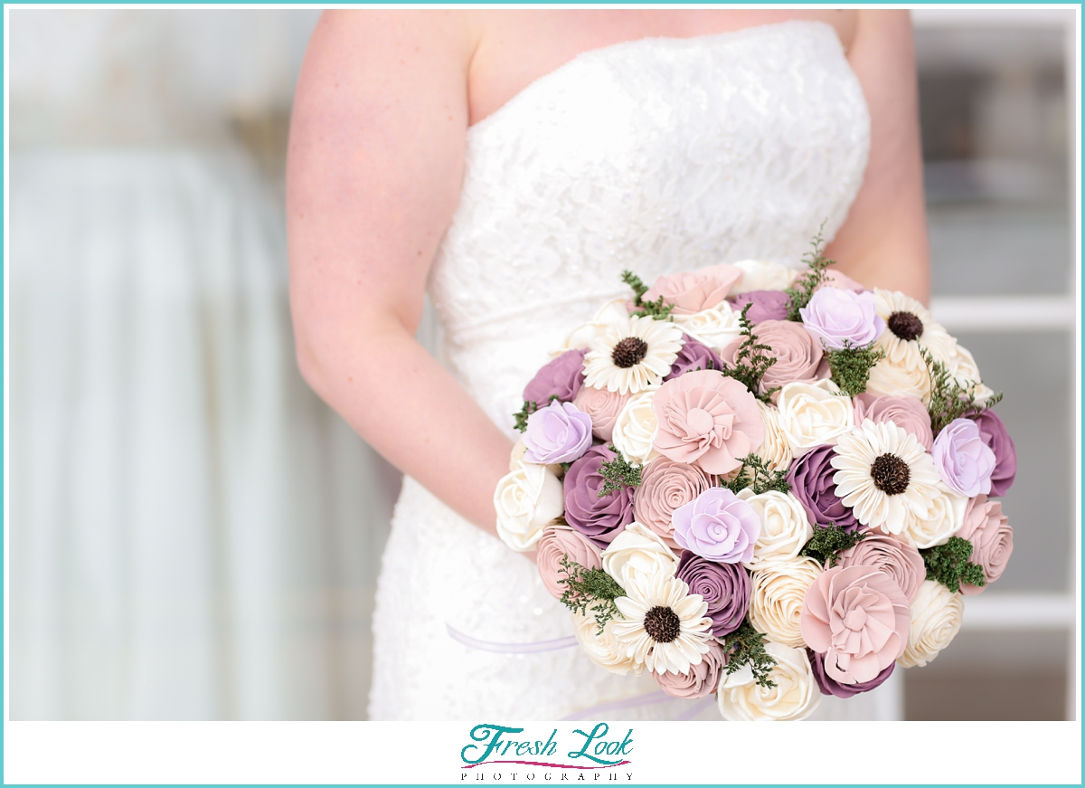 Southern Blooms wedding bouquet