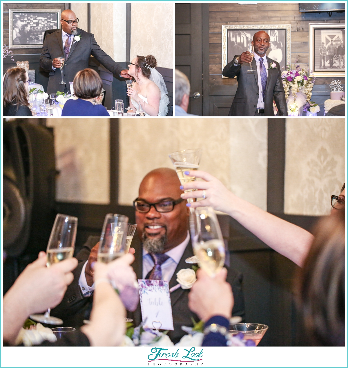 wedding toasts and cheers
