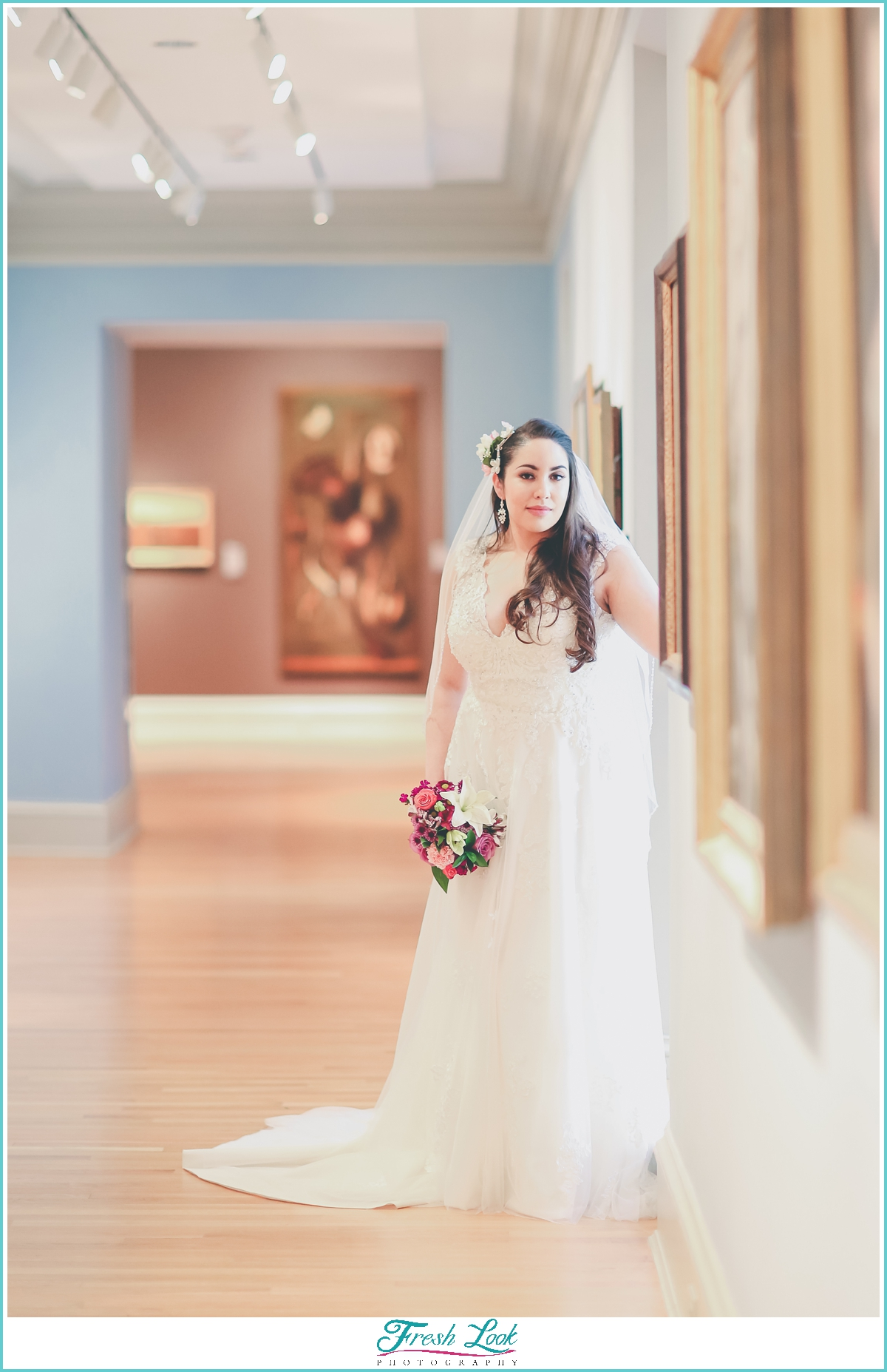 Virginia Art museum wedding