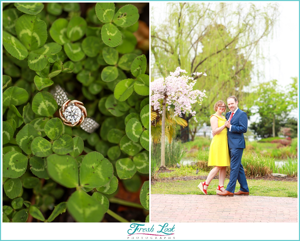 Norfolk engagement session photographer