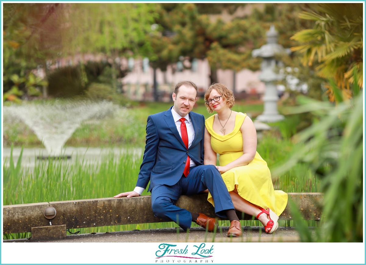 romantic engagement session in Norfolk
