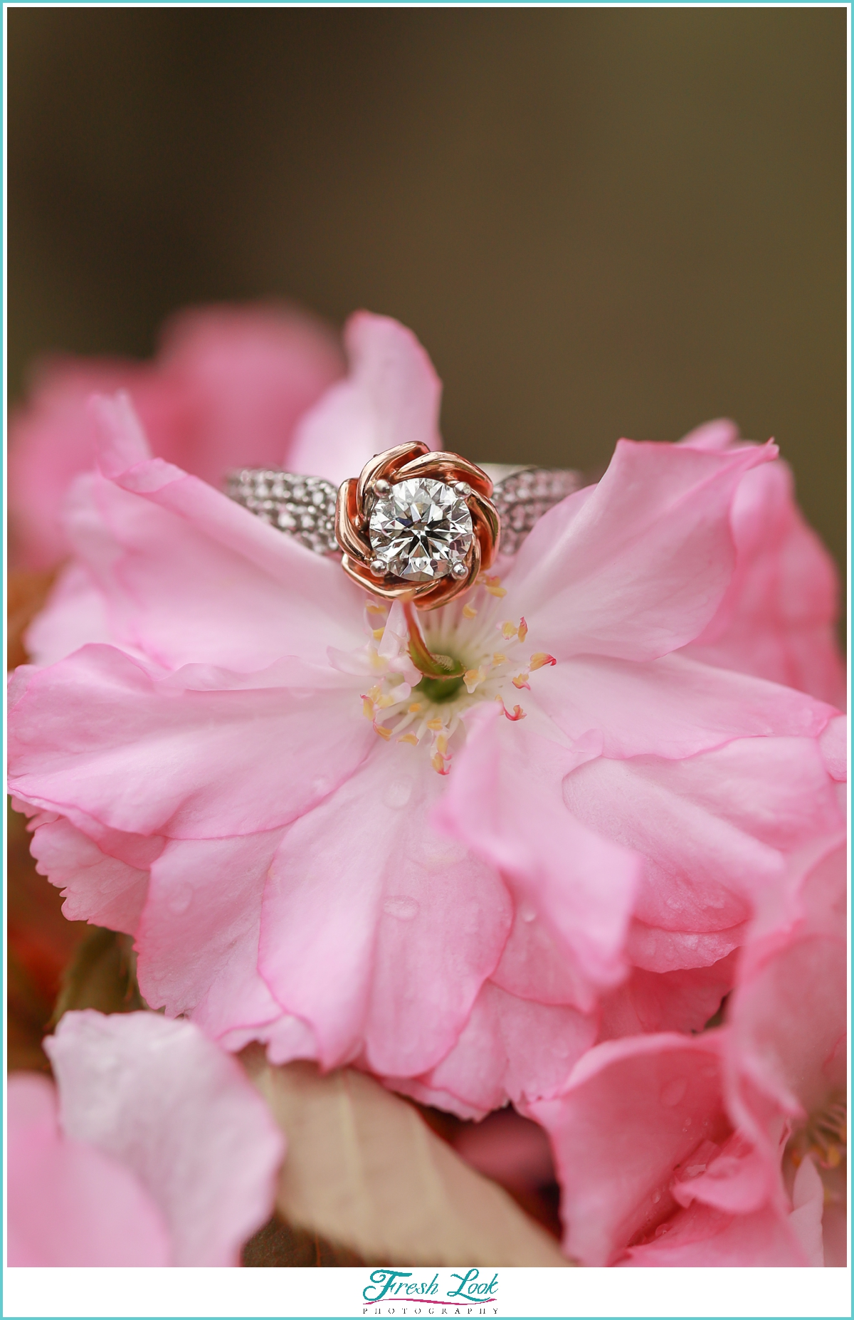 beauty and the beast engagement ring