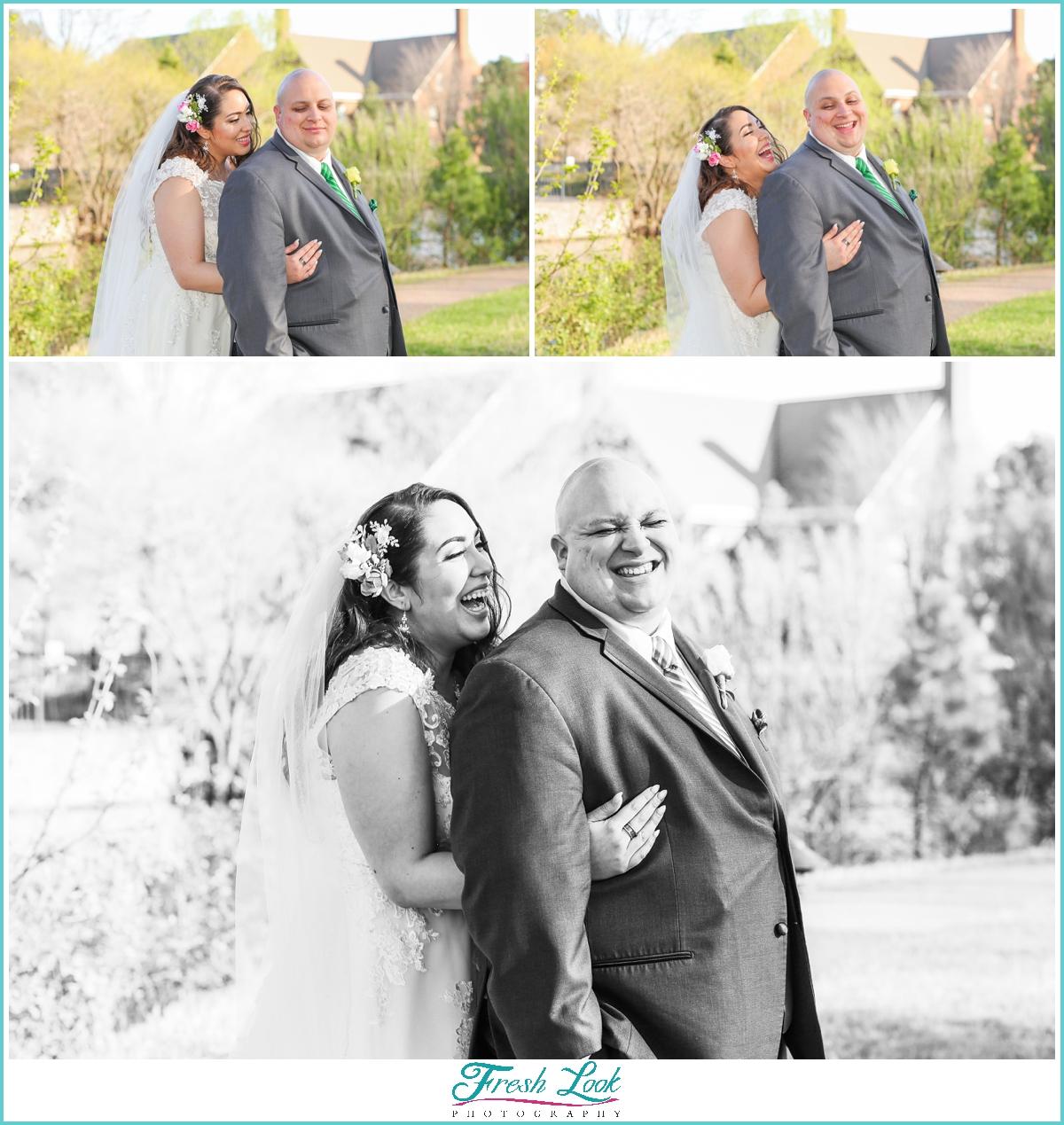 Fun Virginia Beach Wedding Photography