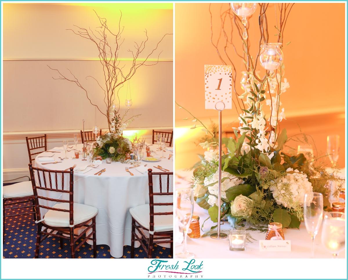 Founders Inn Wedding Reception Details