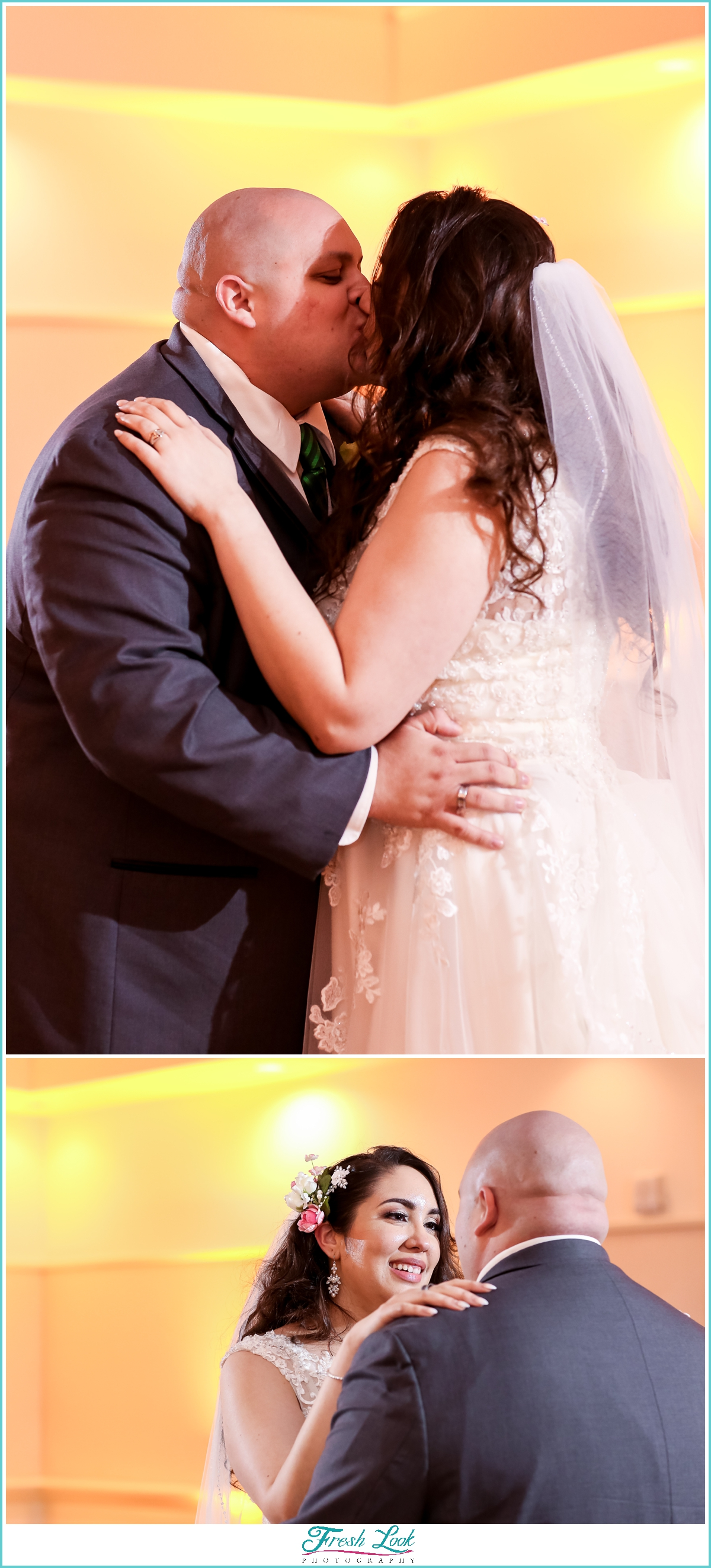 romantic Founders Inn Wedding