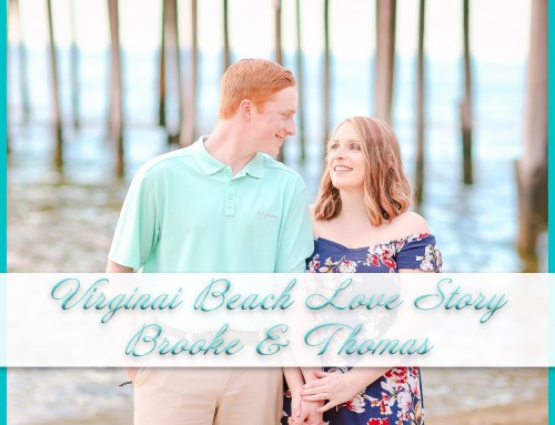 Virginia Beach Love Story | Brooke+Thomas