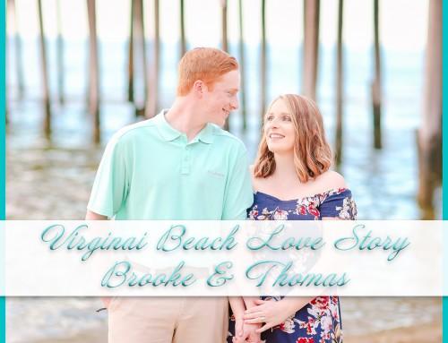Virginia Beach Love Story | Brooke+Thomas