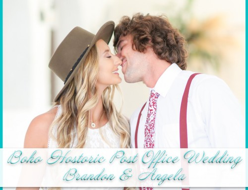 Boho Wedding at Historic Post Office | Angela+Brandon