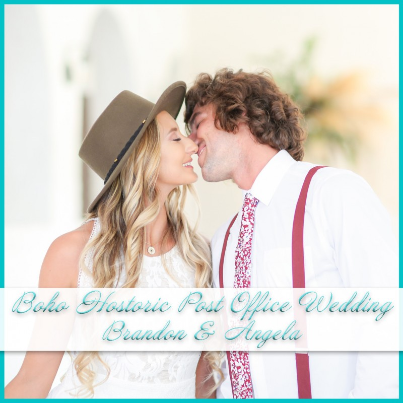 Boho Wedding at Historic Post Office