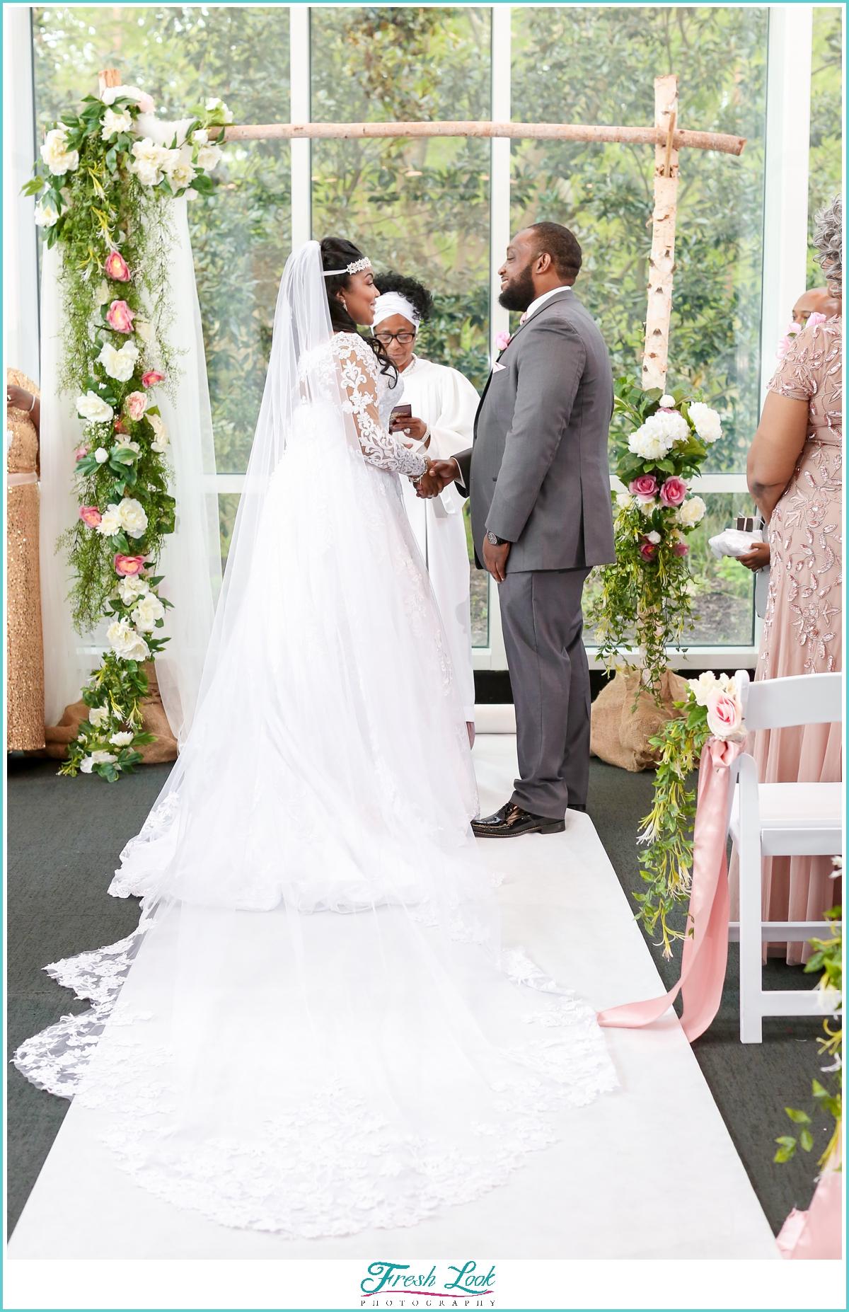Virginia Beach wedding ceremony