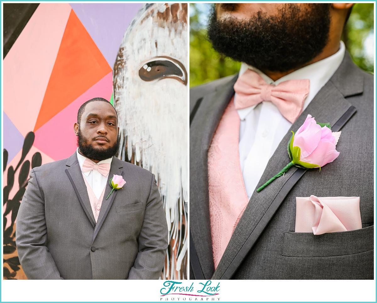 handsome groom portraits