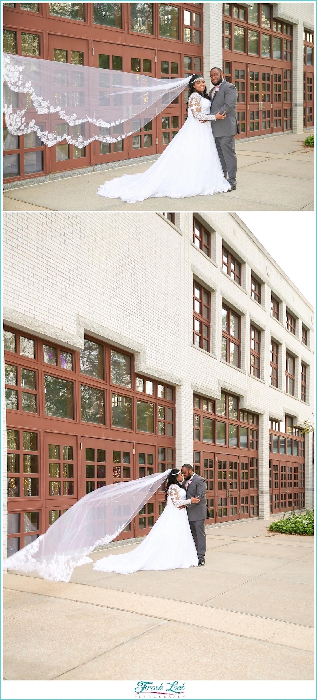 Spring wedding at Virginia MOCA
