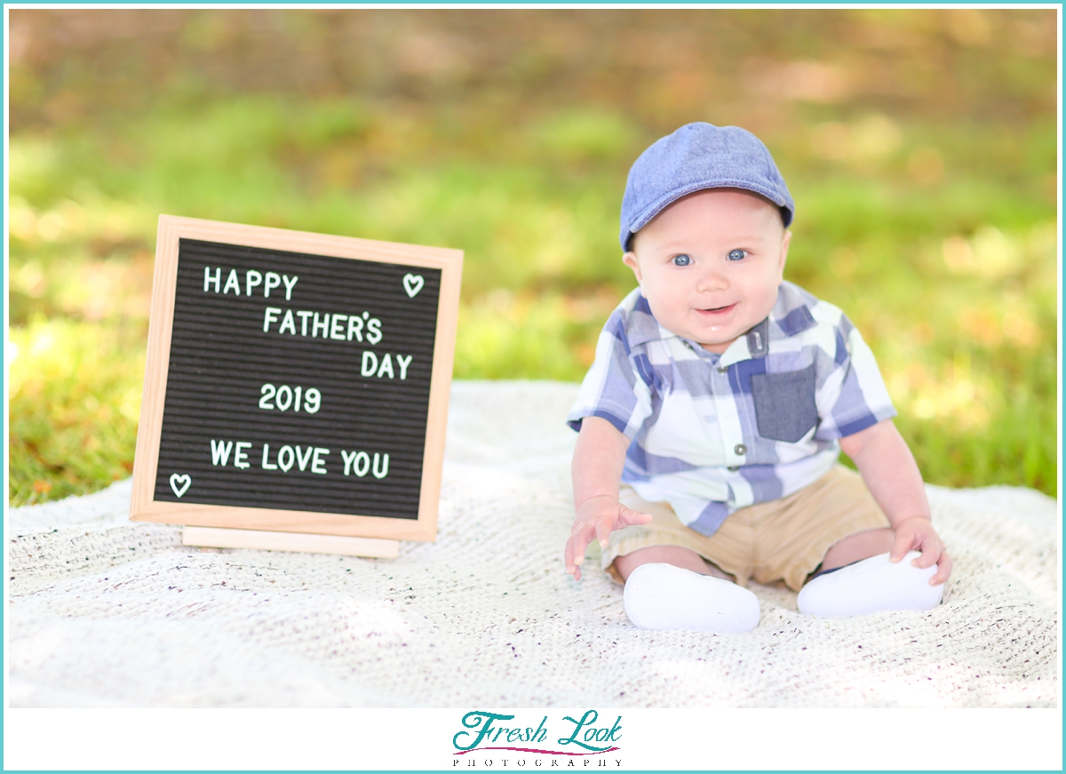 Happy Fathers Day Sign