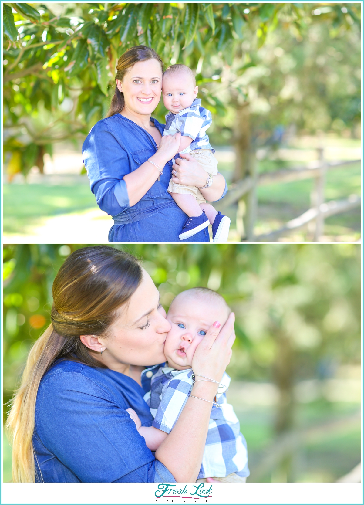 baby's first photo shoot