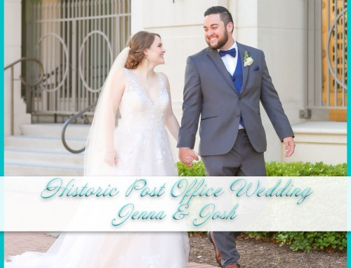 Historic Post Office Wedding | Jenna+Josh