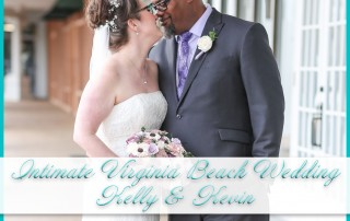 Intimate Virginia Beach Wedding