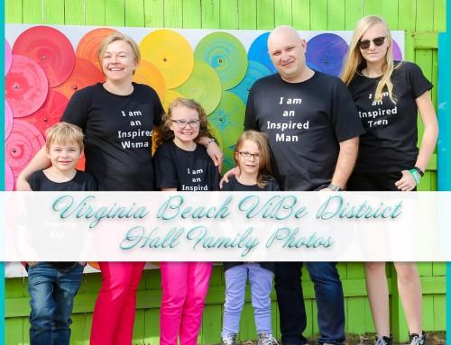 Virginia Beach ViBe District Photos | Hall Family