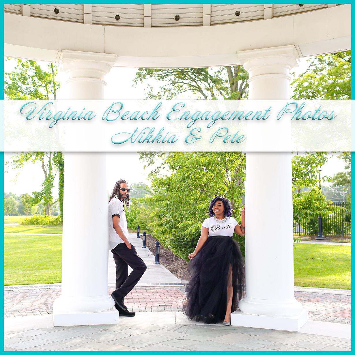 Engagement Photos in Virginia Beach
