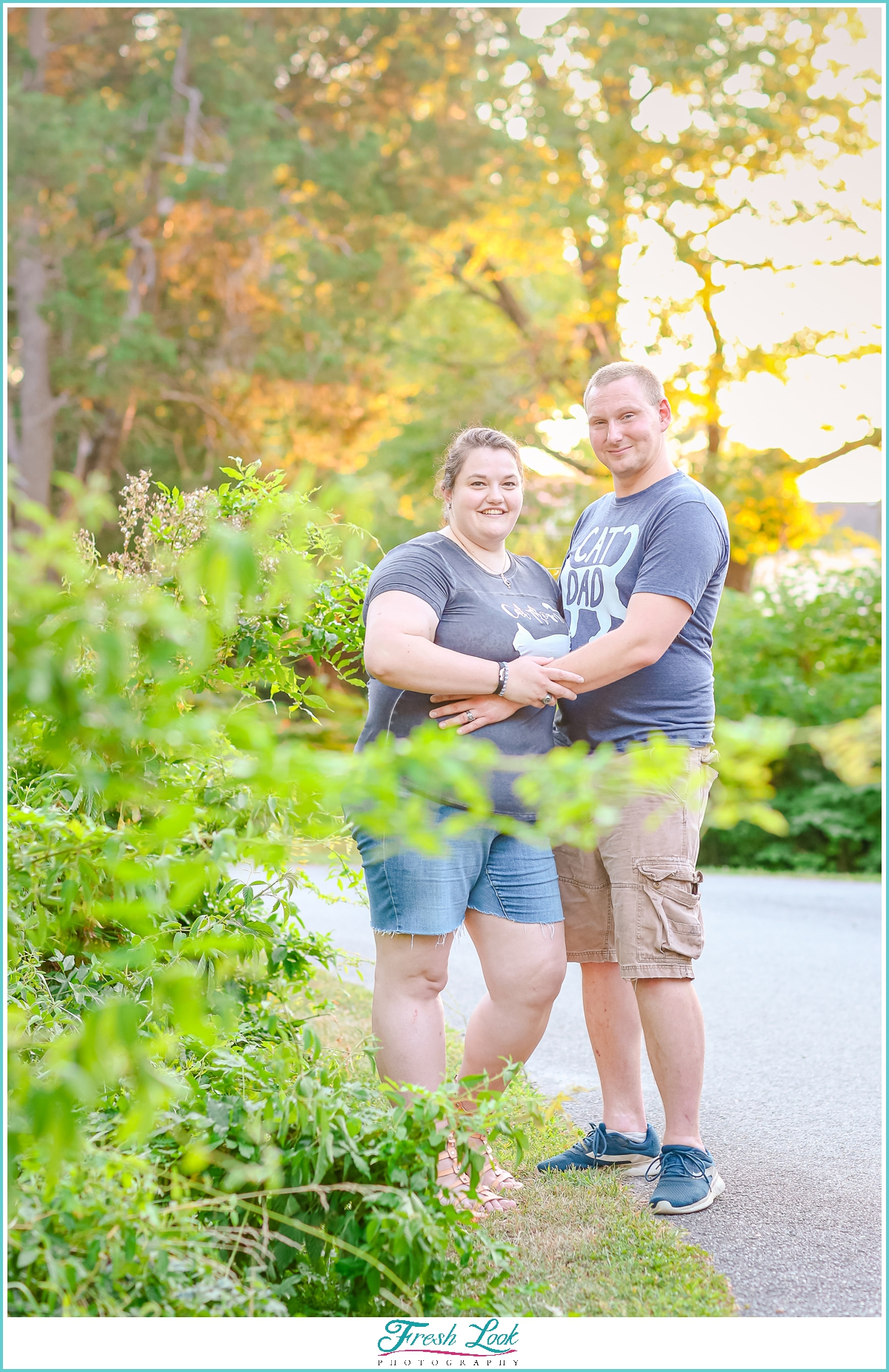 Summer engagement photoshoot