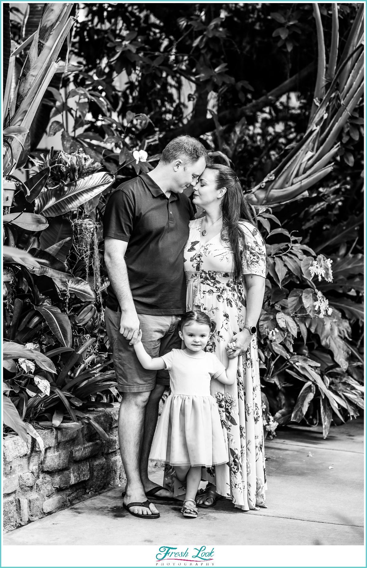 Norfolk Botanical Gardens family photos