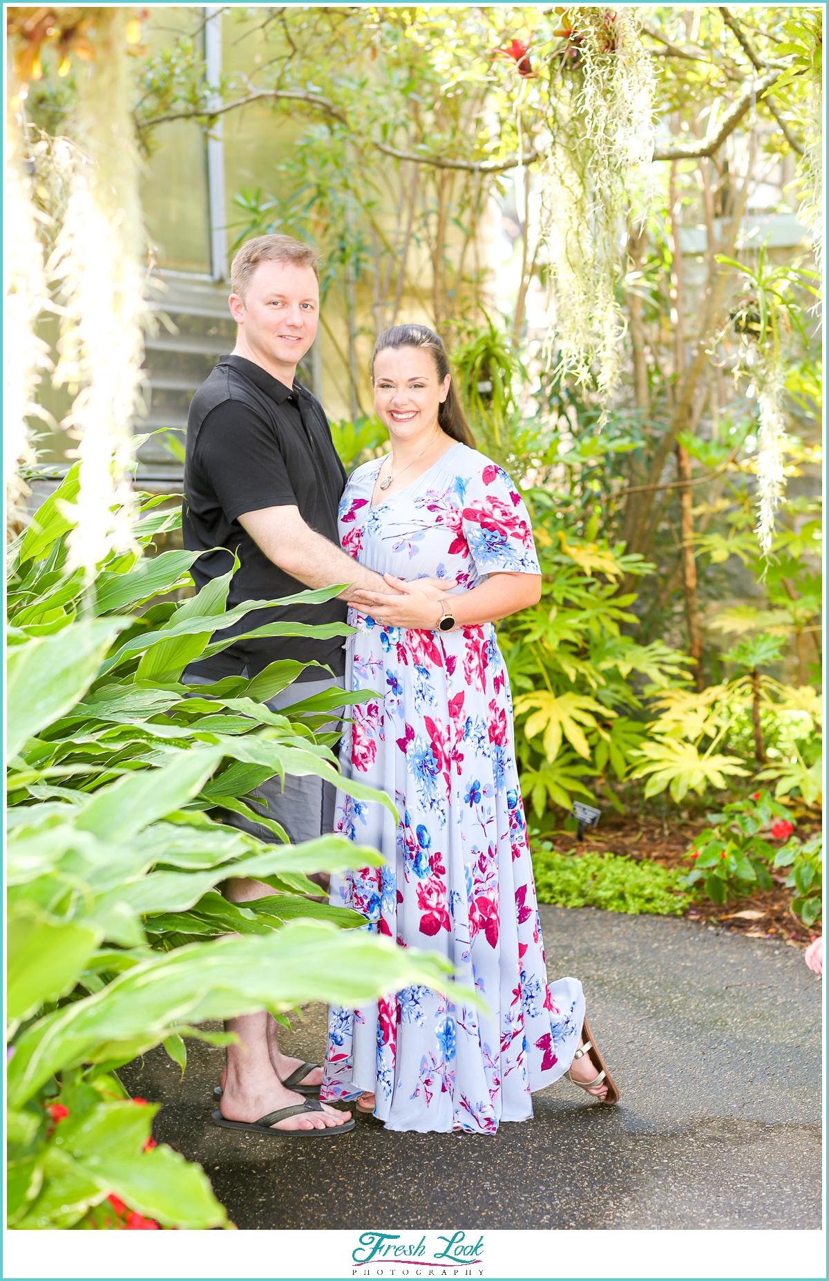 Norfolk Botanical Gardens couples photos