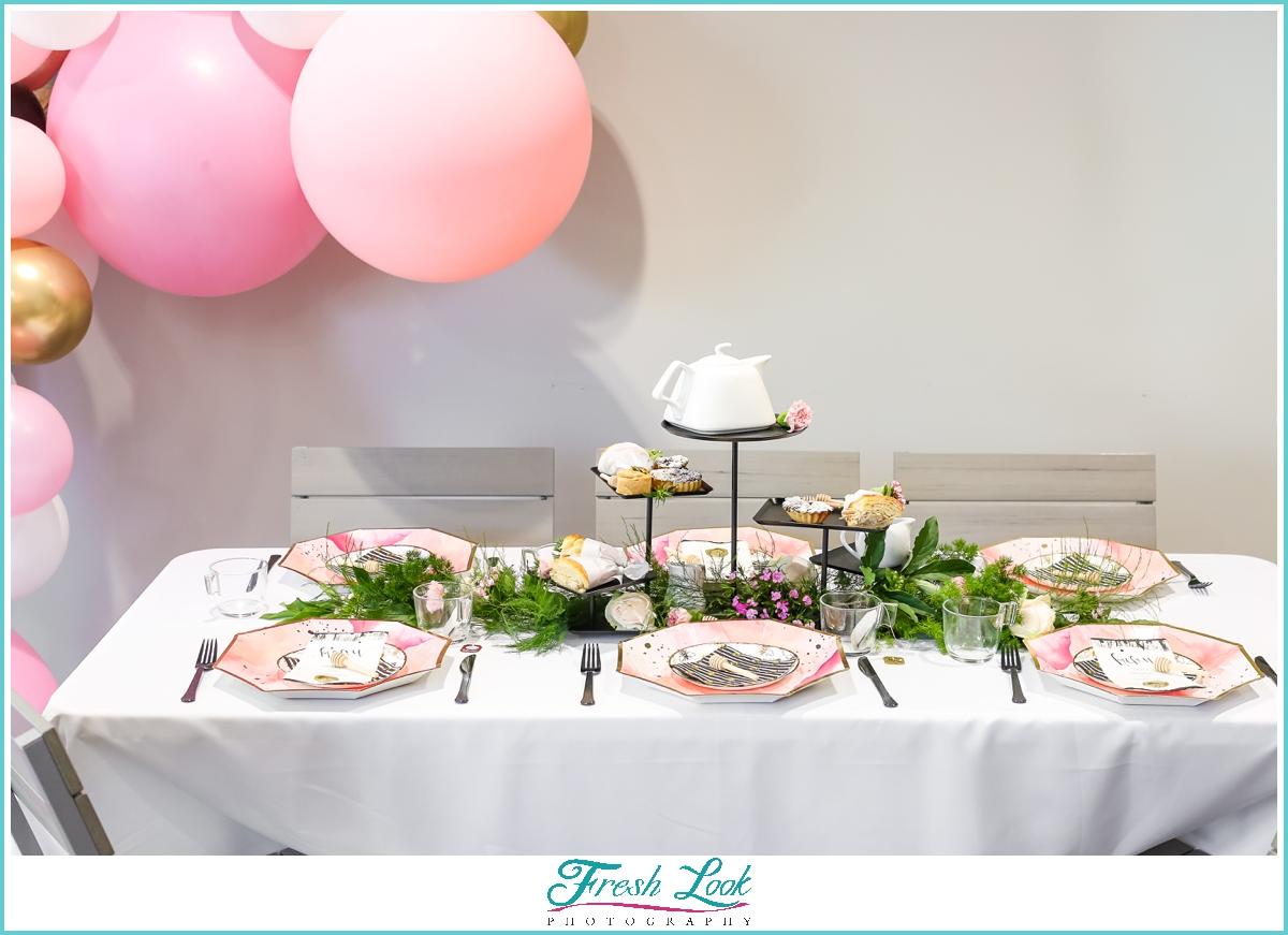 tea party bridal shower decorations