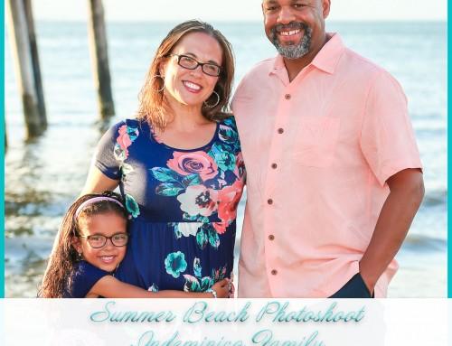 Summer Beach Photoshoot | Indomenico Family