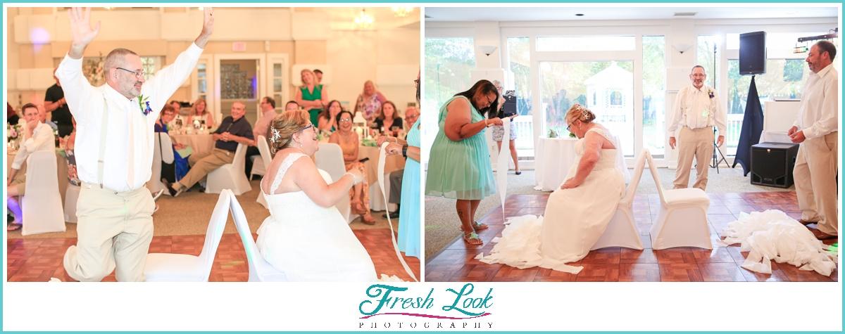 fun wedding reception games