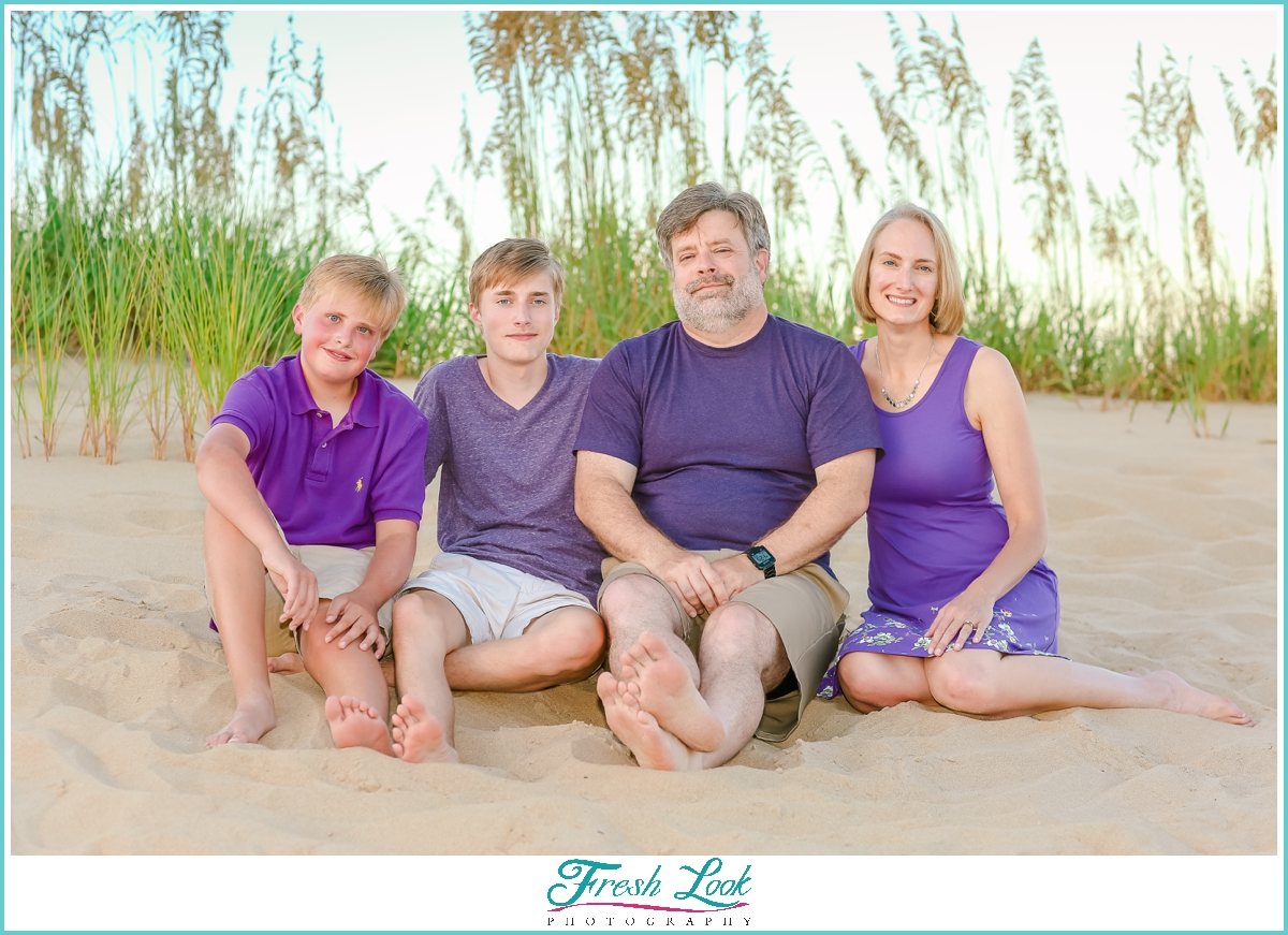 Sandbridge beach family photos