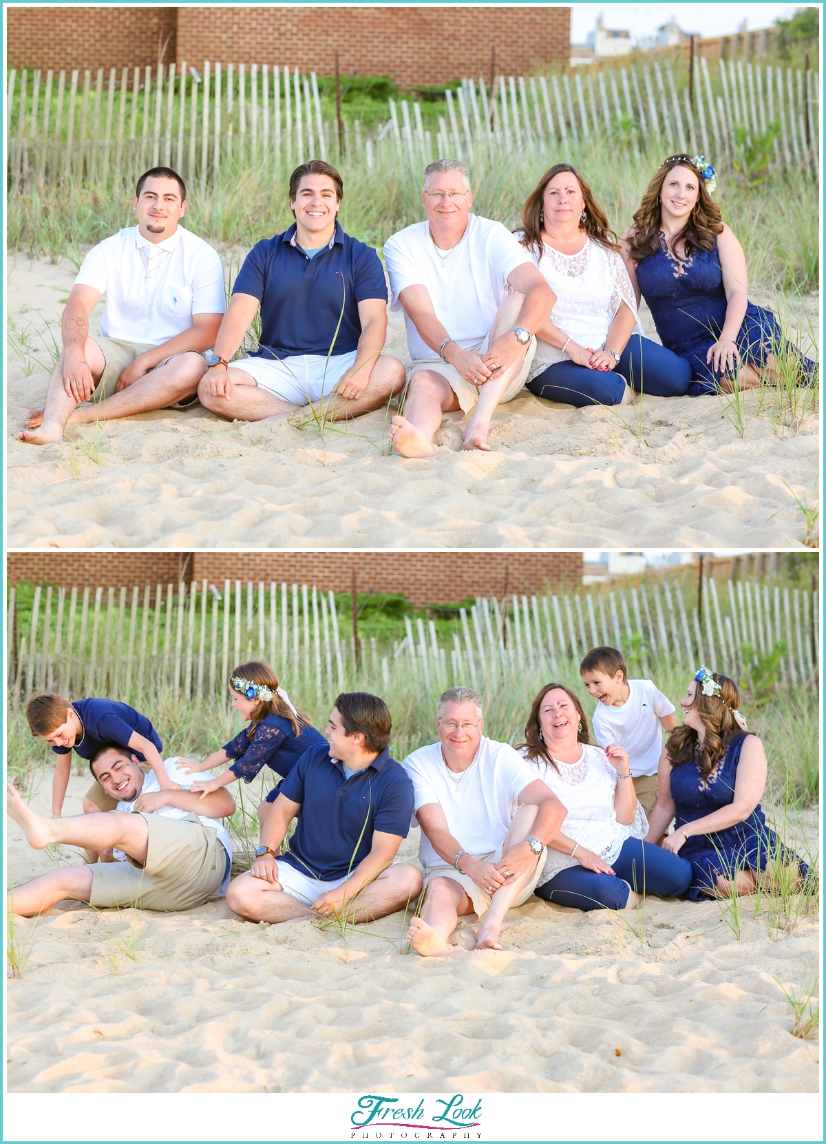 beach family photo ideas
