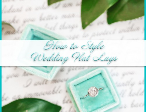 How to Style Flat Lays for Weddings