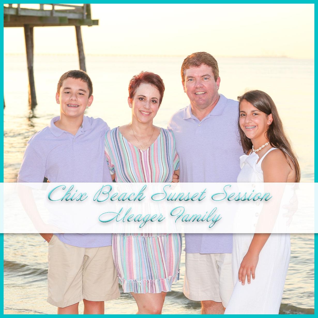 Chix Beach Sunset Session