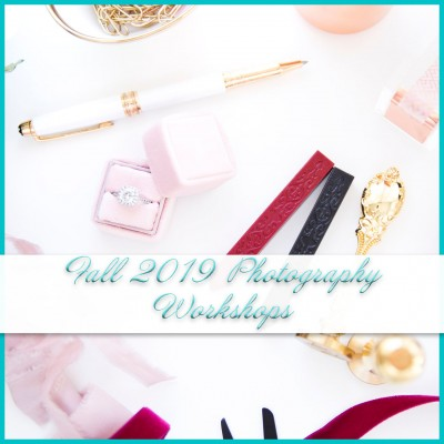 Fall 2019 Photography Workshops