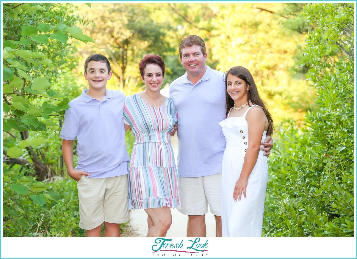 Chix Beach family photoshoot