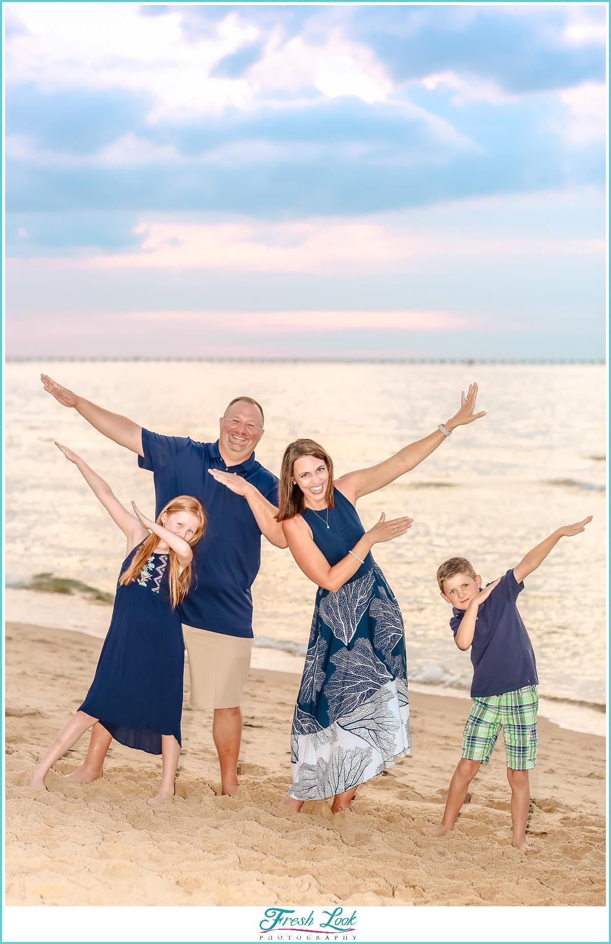 funny family photo ideas