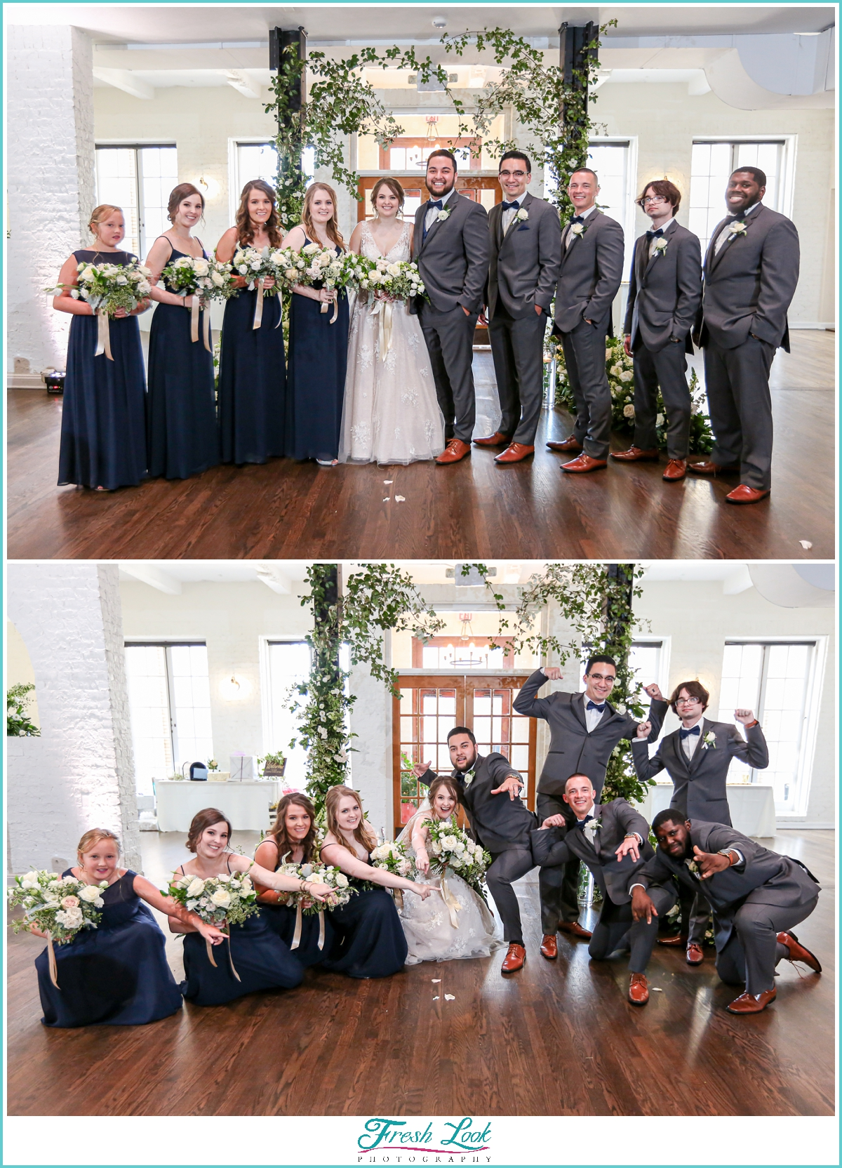 epic bridal party photos