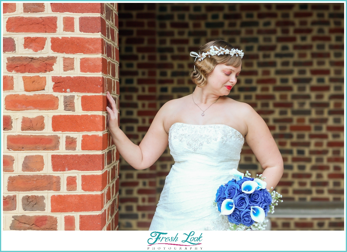 bridal portraits before the wedding