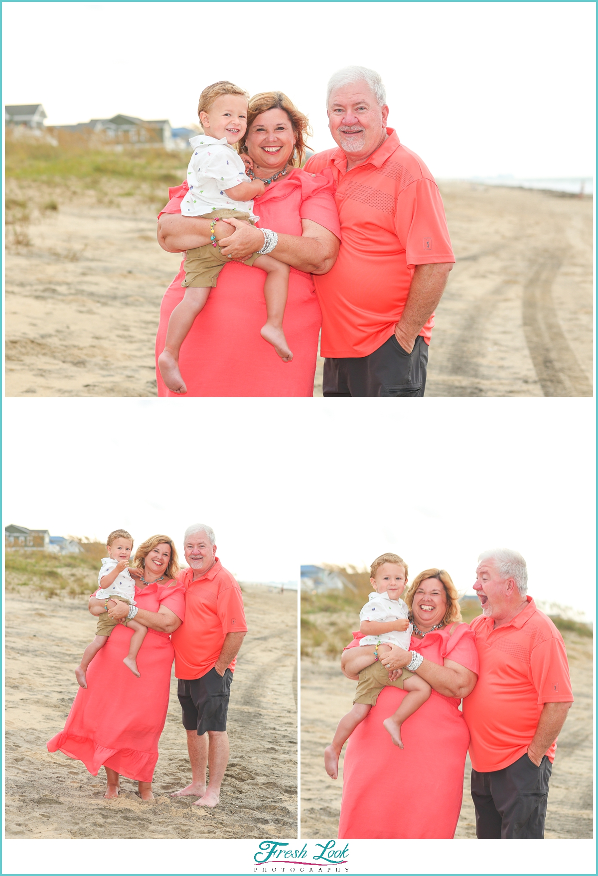 nana and papa with their grandbaby