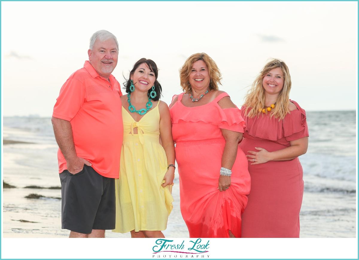 family beach photoshoot