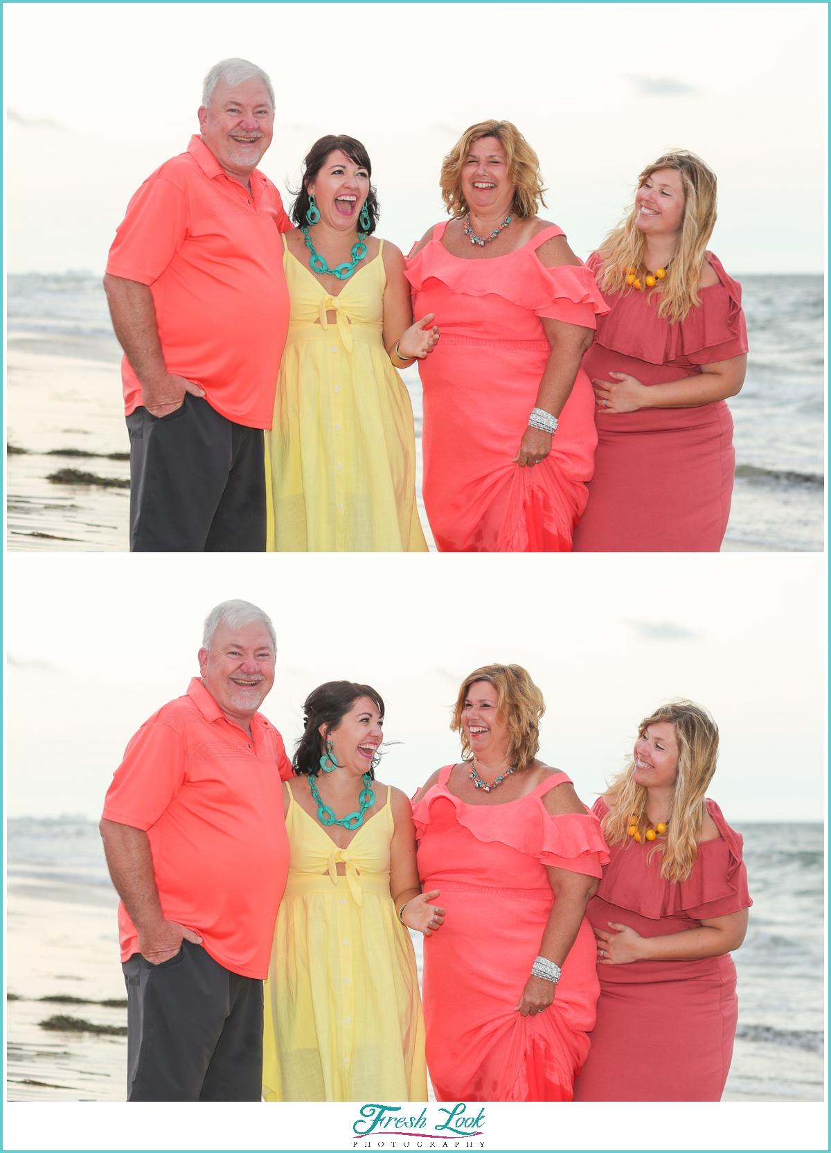Sandbridge family photoshoot
