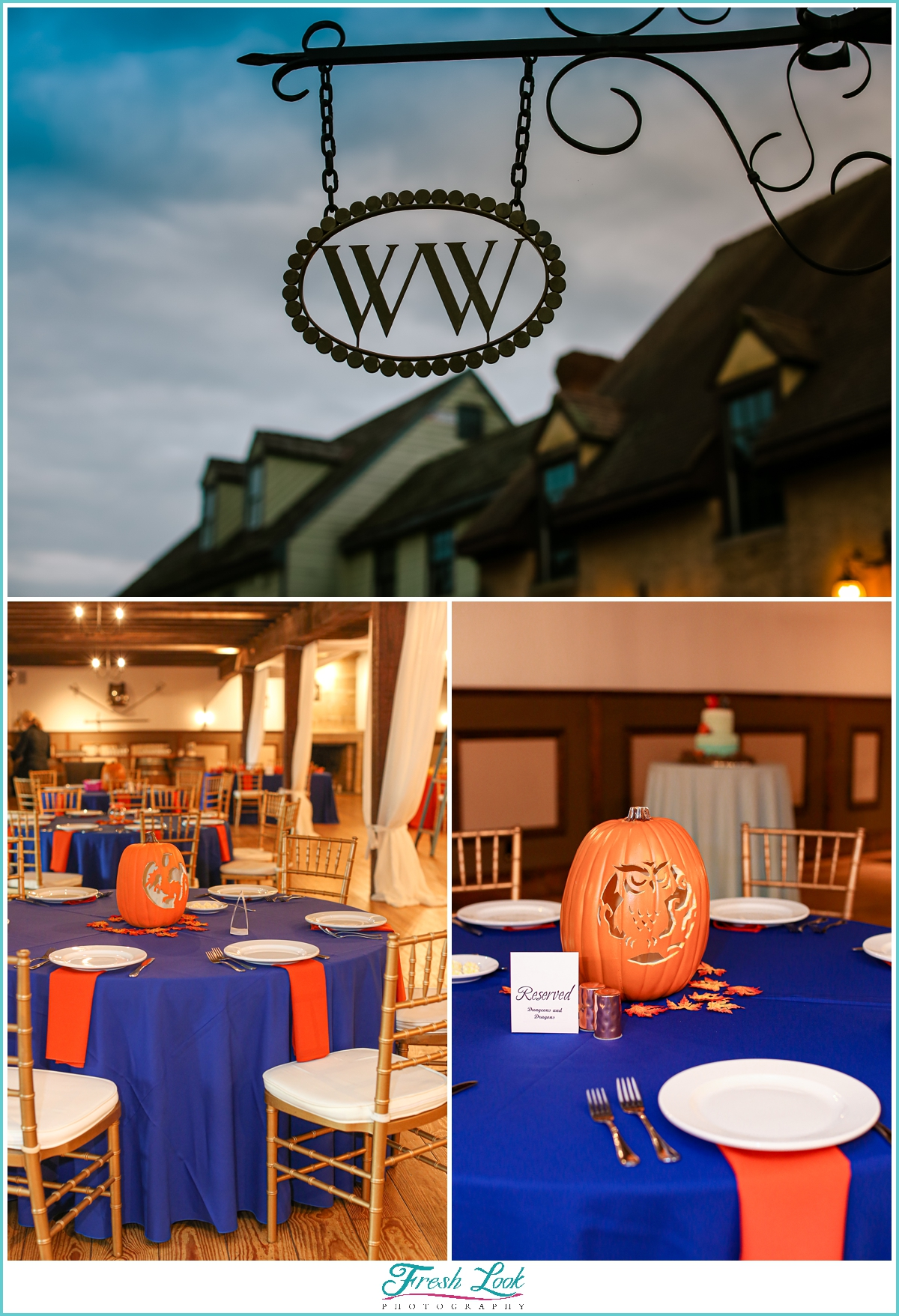 Williamsburg Winery wedding reception