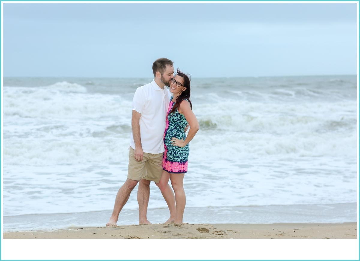 couples romantic beach photoshoot