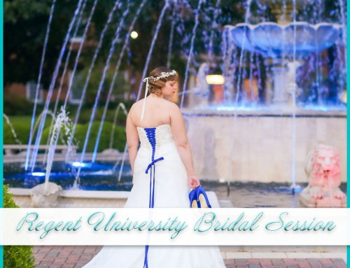 Regent University Bridal Session | Natalie
