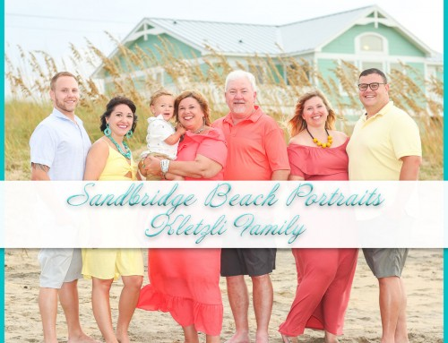 Sandbridge Beach Portraits | Kletzli Family