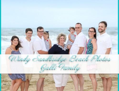 Windy Sandbridge Beach Photos | Galli Family