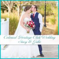 Colonial Heritage Club Wedding