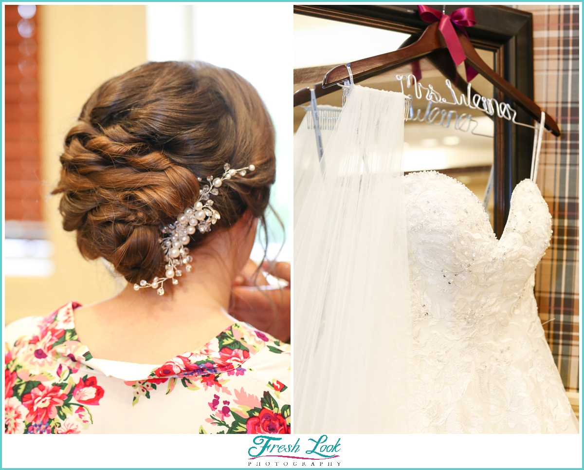 bridal details in Williamsburg
